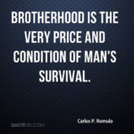 Carlos P Romulo Quotes
