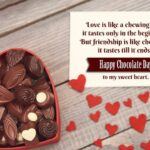 Chocolate Day Quotation