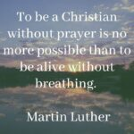 Christian Quote On Prayer