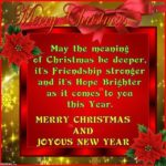 Christmas And New Year Wishes For Friends Twitter