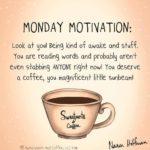 Coffee Quotes Monday Facebook