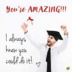 Congrats Wishes For Graduation Pinterest