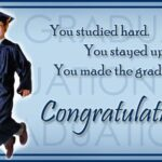 Congratulation Message For Graduate Student