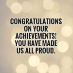 Congratulation Quotes For Achievement Pinterest
