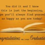 Congratulations College Graduate Quotes