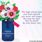 Congratulations Message For Middle School Graduation