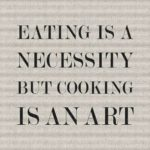 Cooking Is Art Quotes Pinterest