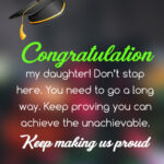 Daughter University Graduation Quotes Pinterest