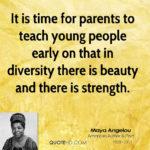 Diversity Quotes Maya Angelou