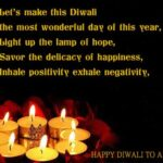 Diwali Wishes To Team Members