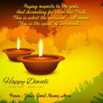 Diwali Wishes With Name And Photo Twitter