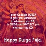 Durga Puja Caption