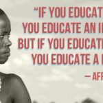 Educate A Girl Empower A Nation Quote