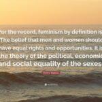 Emma Watson Feminism Quotes Facebook