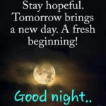 Encouraging Good Night Quotes