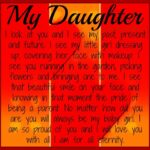 Encouraging Words For Your Daughter