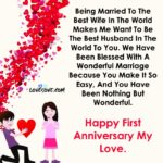 Engagement Anniversary Wishes To Wife Facebook