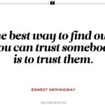 Ernest Hemingway Sayings Pinterest