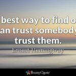 Ernest Hemingway Trust
