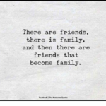 Family And Friends Quotes Facebook