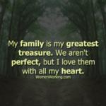 Family Treasure Quotes Facebook