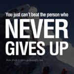 Famous Quotes About Never Giving Up Facebook