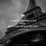 Famous Quotes About The Eiffel Tower Tumblr