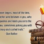 Famous Quotes On Teachers Day Facebook