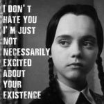 Famous Wednesday Addams Quotes Facebook