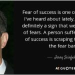 Fear And Success Quotes Tumblr