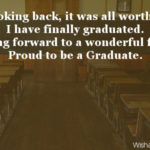 Finally I Am Graduate Quotes Facebook