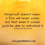 Fireproof Quotes Tumblr