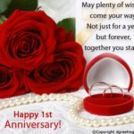 First Anniversary Wishes For Couple Twitter