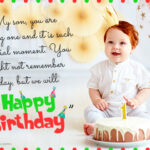 First Birthday Message Twitter