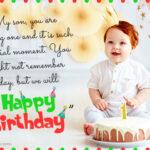 First Birthday Message Twitter