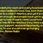 Food Bank Quotes Tumblr