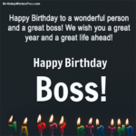 Formal Birthday Wishes For Boss Pinterest