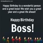 Formal Birthday Wishes For Boss Pinterest