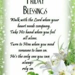 Friday Inspirational Blessings Tumblr