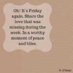 Friday Weekend Quotes