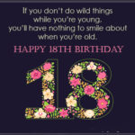 Funny 18th Birthday Wishes Pinterest