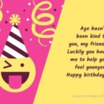 Funny Birthday Message For Best Friend