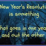 Funny Quotes About New Year's Resolutions Facebook