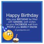 Generic Birthday Wishes