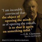 Gk Chesterton Quotes Facebook