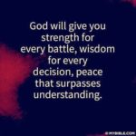 God Will Give You Strength Quotes Pinterest