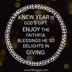 God's Blessings For The New Year Quotes Twitter