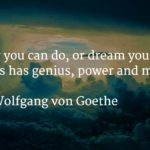 Goethe Quote Boldness Twitter