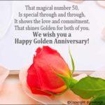 Golden Jubilee Anniversary Wishes Twitter