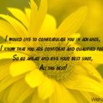 Good Luck Words Of Encouragement